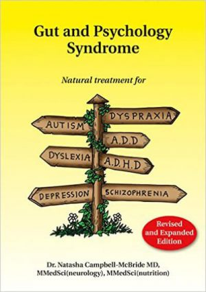 Gut & Psychology Syndrome Book