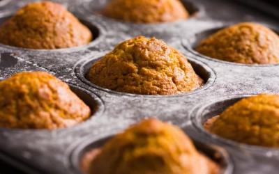 Coconut Flour Pumpkin Muffins {gf, df, nf, veg, paleo}