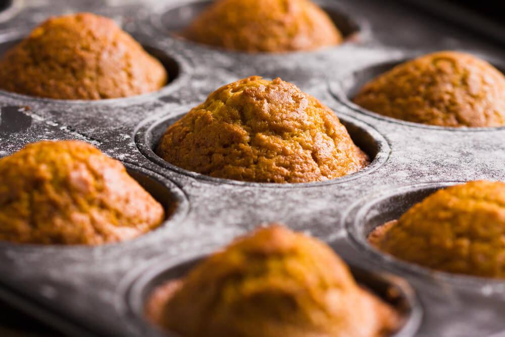 Coconut Flour Pumpkin Muffins