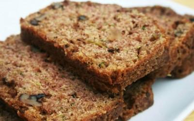 Coconut Flour Zucchini Bread {gf, df, nf, veg, paleo, gaps}
