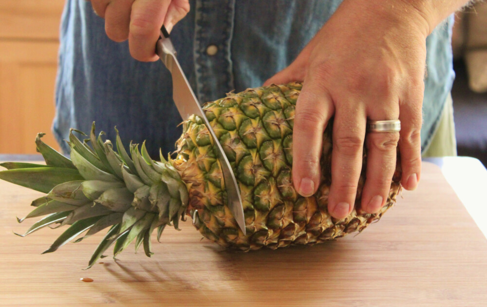 How to Cut Up a Pineapple Like a Pro