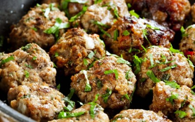 Gluten-Free Meatballs with Vegetables and Herbs {gf, df, nf, paleo, gaps}